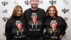 NEW YORK, NY - DECEMBER 08:  (L-R)  Siggy Flicker, President at Musicians On Call Pete Griffin, and Dolores Catania attend the Musicians On Call Deck The Halls Holiday Sweater Party at Kola House on December 8, 2016 in New York City.  (Photo by Donald Bowers/Getty Images for Pepsi)