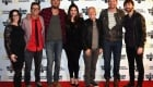 NASHVILLE, TN - OCTOBER 26:  Katy Epley EVP MOD, Bobby Bones, Charles Kelley, Hillary Scott of Lady A, Peter Frampton, Pete Griffin President MOD and Dave Haywood Lady A attend Musicians On Call 10th Anniversary In Nashville With Lady Antebellum at City Winery Nashville on October 26, 2017 in Nashville, Tennessee.  (Photo by Rick Diamond/Getty Images for Musicians On Call)