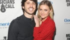 LOS ANGELES, CA - FEBRUARY 28:  Morgan Evans and Kelsea Ballerini attend the Musicians On Call 5th Anniversary Celebration in Los Angeles Delivering The Healing Power of Music on February 28, 2018 in Los Angeles, California.  (Photo by Jesse Grant/Getty Images for Musicians On Call )