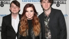LOS ANGELES, CA - FEBRUARY 28:  (L-R) Graham Sierota, Sydney Sierota and Noah Sierota of Echosmith attend the Musicians On Call 5th Anniversary Celebration in Los Angeles Delivering The Healing Power of Music on February 28, 2018 in Los Angeles, California.  (Photo by Jesse Grant/Getty Images for Musicians On Call )